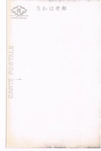 炭酸温泉對翠閣繪葉書・宛名面