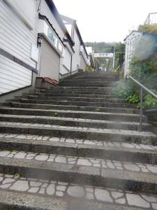 熊野那智大社へ続く石段